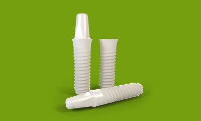 Ceramic implantant