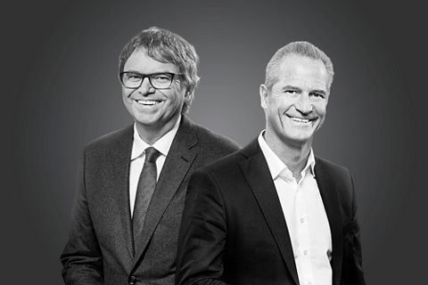 Gilbert Achermann (Chairman of the Board of Directors) and Marco Gadola (Chief Executive Officer)