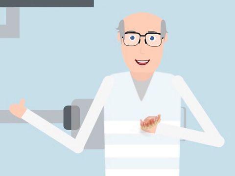 Termin 3: Eingliederung der finalen Prothese am Patienten
