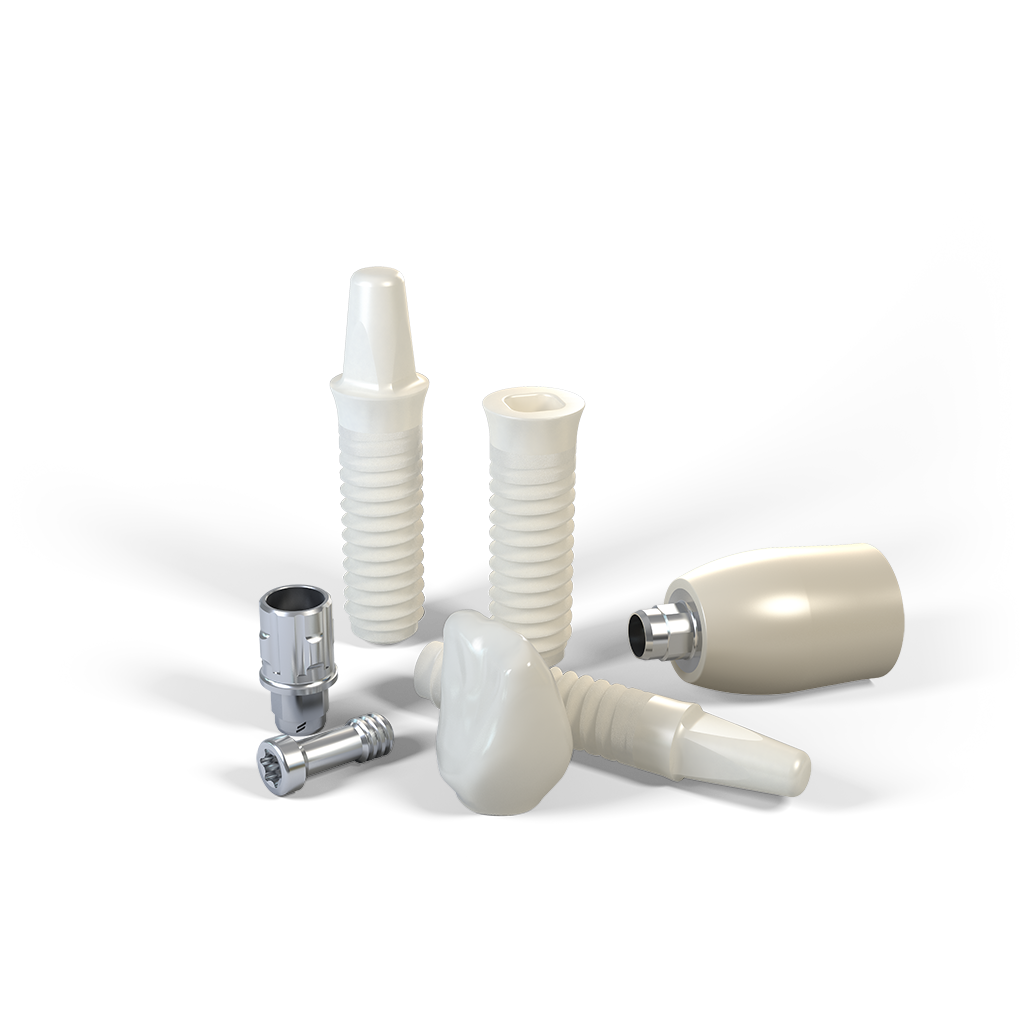 Das Straumann® PURE Ceramic Implantat ist jetzt auch zweiteilig erhältlich.